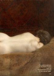 """""""Nu sur le lit"""" (detail)"""